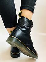 Dr.Martens. Зимние ботинки. Натуральная кожа. Высокое качество. Р. 36.39 Vellena, фото 6
