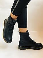 Dr.Martens. Зимние ботинки. Натуральная кожа. Высокое качество. Р. 36.39 Vellena, фото 4
