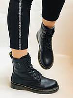 Dr.Martens. Зимние ботинки. Натуральная кожа. Высокое качество. Р. 36.39 Vellena, фото 7