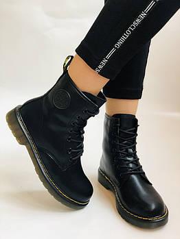 Dr.Martens. Зимние ботинки. Натуральная кожа. Высокое качество. Р. 36.39 Vellena