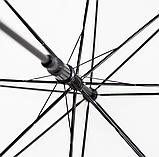 Зонт трость напівавтомат 102 см діаметр, фото 4