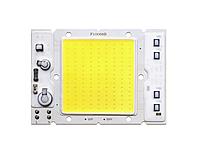 Светодиодная LED матрица 50Ватт 220V ( встроенный драйвер ) 100*68mm