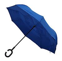 Зонт трость механический, обратное сложение 106 см купол