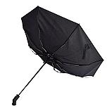 Зонт автомат с фонариком в ручке 96 см купол, фото 4