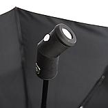 Зонт автомат с фонариком в ручке 96 см купол, фото 5