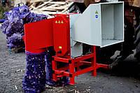 Измельчитель веток, дров, рубильная машина АМ-120 навесной для трактора (без кардана)