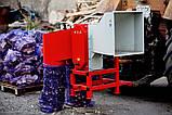 Измельчитель веток, дров, рубильная машина АМ-120 навесной для трактора (без кардана), фото 5