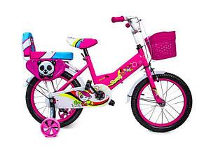 """Велосипед 16 """"SHENGDA"""" Pink T15, Ручной и Дисковый Тормоз, фото 2"""