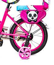 """Велосипед 16 """"SHENGDA"""" Pink T15, Ручной и Дисковый Тормоз, фото 3"""