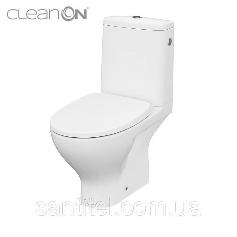 Компакт 667 MODUO CLEAN ON 011 3/5 с сиденьем дюропласт SLIM WRAP LIFT