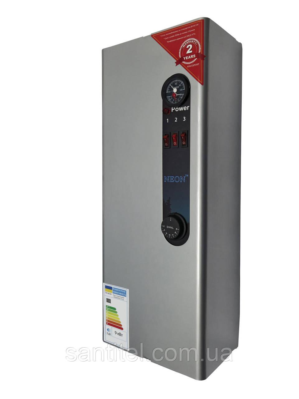 Электрический котел NEON WCSMG  9.0 кВт 220/380 В, модульный контактор