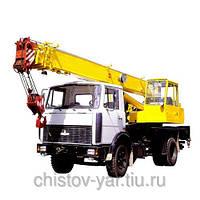 Услуги автокрана (10 - 20 тн) в Виннице