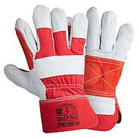 Перчатки комбинированные замшевые р10.5 класс АВ (усиленная ладонь) SIGMA (9448381)