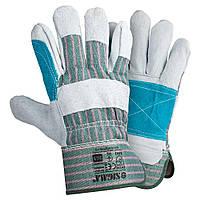 Перчатки комбинированные замшевые р10.5, класс ВС (усиленная ладонь) SIGMA (9448401)
