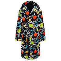 Красивый тёплый махровый халат для мальчика в с 36 по 46 размер