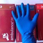 Перчатки резиновые Ambulance High Risk(S) 6-7