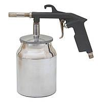 Пневмопістолет піскоструменевий (мет. бак) Sigma (6846021), фото 1