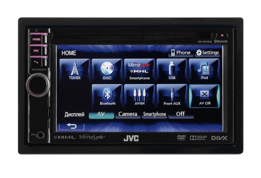Автомагнитола JVC KW-NSX600EE 2-DIN (Р15501)