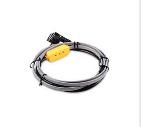 Обогрев водопровода кабель с термостатом FineKorea  20м 320Вт