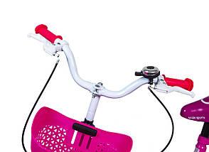 """Велосипед 16 """"Scale Sports"""" Рожевий T15, Ручний і Дисковий, фото 2"""