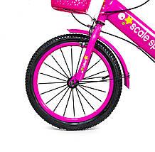 """Велосипед 16 """"Scale Sports"""" Рожевий T15, Ручний і Дисковий, фото 3"""