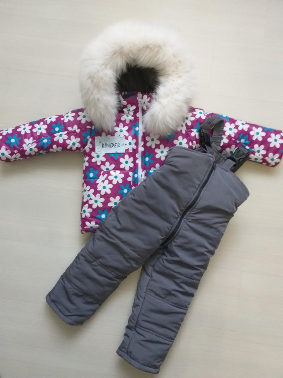 Зимний костюм монклер. комбинезон и куртка