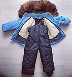 Зимний костюм монклер. комбинезон и куртка, фото 9