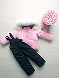 Зимний костюм монклер. комбинезон и куртка, фото 3