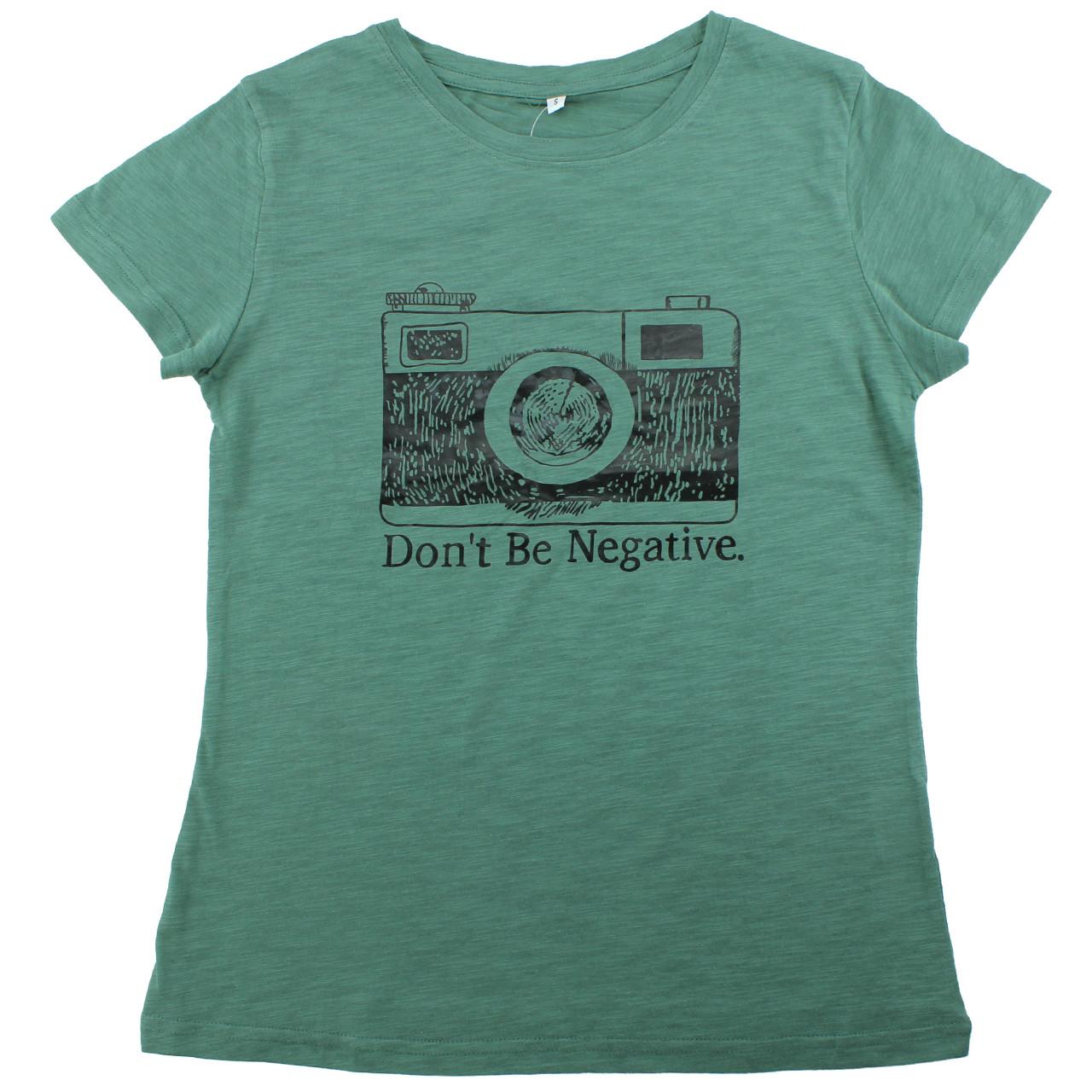 Крутая модная футболка хлопковая женская летняя футболка с принтом камеры в стиле ретро зеленая