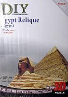 """2801 Q 3D пазл  """"Египетские Реликвии"""" 38 деталей."""