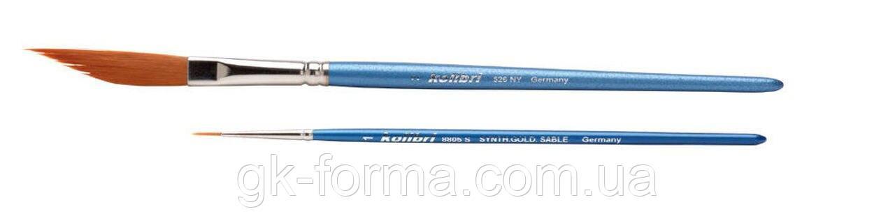 Набор кистей H&S Kolibri 526 NY (синтетика), 2 шт.