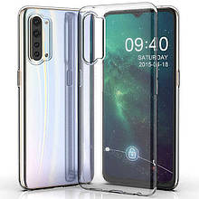 TPU чехол Epic Transparent 1,0mm для Oppo Reno 3 5G