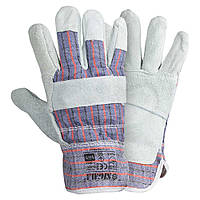 Перчатки комбинированные замшевые SIGMA (9448321)