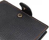 Кошелек мужской Vintage 14591 кожаный Черный, фото 10