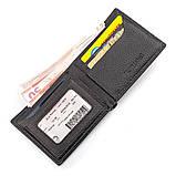 Мужской кошелек ST Leather 18319 (ST160) кожаный Черный, фото 3