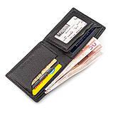 Мужской кошелек ST Leather 18319 (ST160) кожаный Черный, фото 4