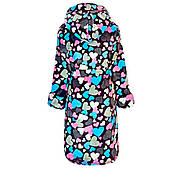 Махровый халат  для девочки  в сердечках с 36 по 46 размер, фото 2