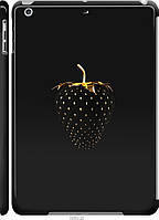 "Чехол на Apple iPad 5 (Air) Черная клубника ""3585c-26-4074"""