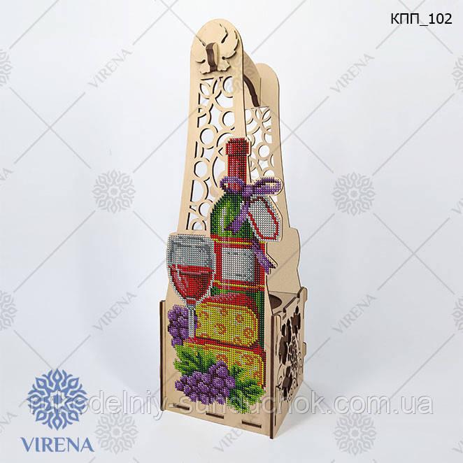 Коробка подарочная для бутылки КПП_102