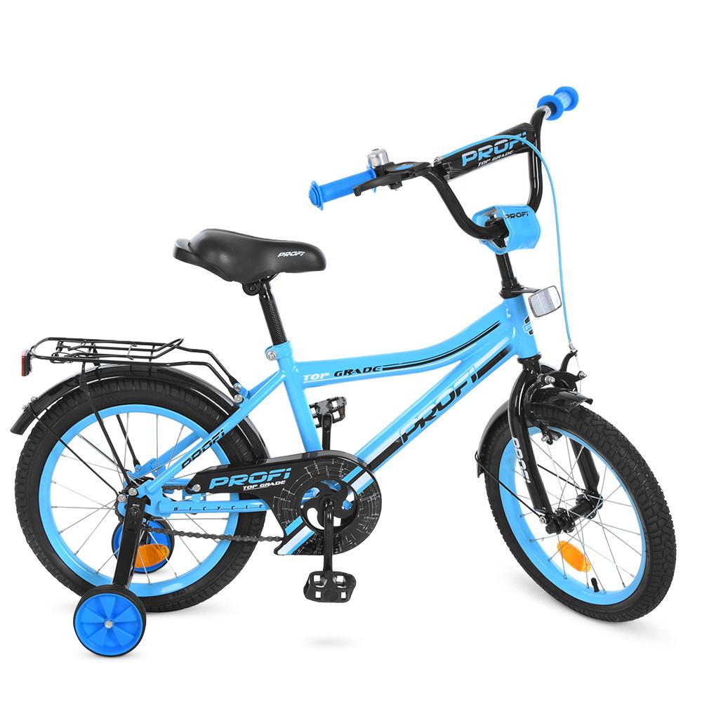 Велосипед детский PROF1 16д. Y16104 Top Grade,бирюзовый