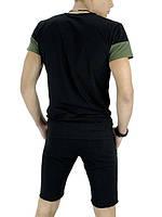 Літній чоловічий комплект (футболка і шорти)