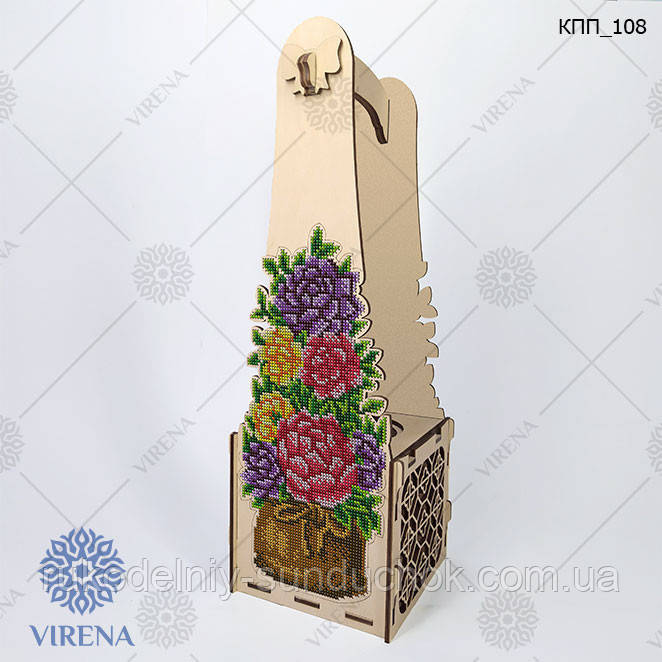 Коробка подарочная для бутылки КПП_108