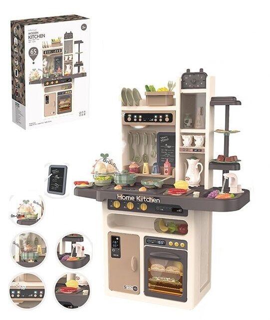 Детская игровая кухня Modern Kitchen 889-211 с водой, паром, и духовкой (93,5x71x28,5 см)