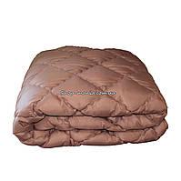 Одеяло зимнее теплое стеганное евро 200х220 см холлофайбер ODA SM 8000 brown, фото 1