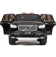 Двухместный детский электромобиль джип Volvo XC90 VIP класса с МР3