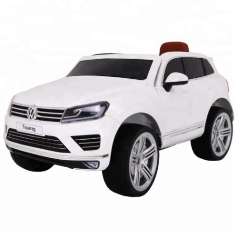 Дитячий електромобіль Volkswagen Touareg KD666 білий