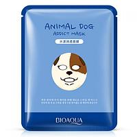 Маска-серветка для особи BIOAQUA Animal Dog Mask зволожуюча 30 г