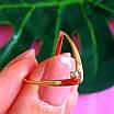 Золотое кольцо на большой палец, фото 2
