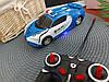 Машинка Трансформер Lamborghini СИНЯ POLICE Car Robot Size 1:18, фото 4