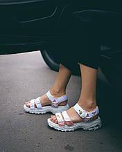 Skechers D'Lites Sandal White